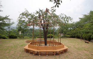 千光寺公園ベンチ