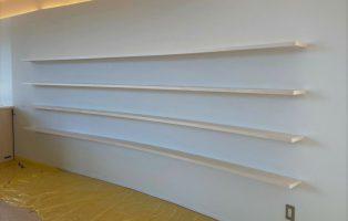 R本棚、Rカウンター、R笠木の画像1